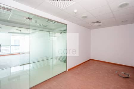 Office for Sale in Jumeirah Lake Towers (JLT), Dubai - For sale fitted unit with partition in JLT