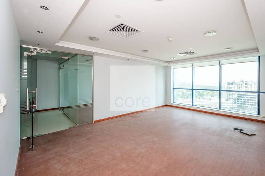 For sale fitted unit with partition in JLT