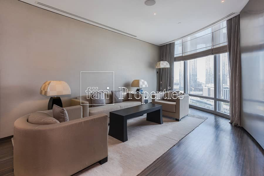 1BR Furnished Apartment | Boulevard View | Armani