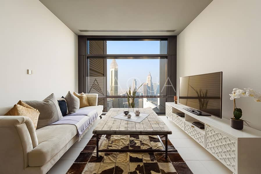 Fully Furnished | High Floor | Index Tower