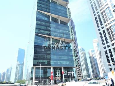 مکتب  للايجار في أبراج بحيرات الجميرا، دبي - Fitted with Glass Partition | Ready to move in