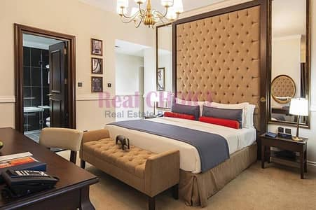 Hotel Apartment for Sale in Palm Jumeirah, Dubai - Standard Furnished Studio|High ROI|Good Investment
