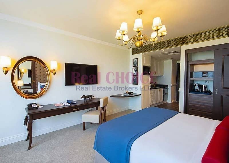 2 Standard Furnished Studio|High ROI|Good Investment