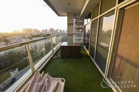 2 Bedroom Apartment for Sale in Dubai Sports City, Dubai - 2 Bedrooms | Golf Course View | Medalist