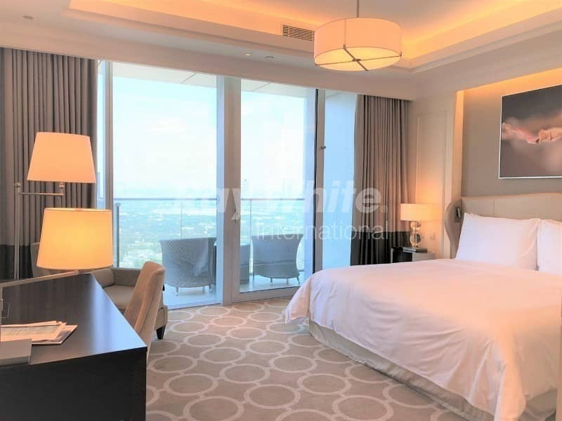 Luxury Fully Furnished  Service Apartment In The Address