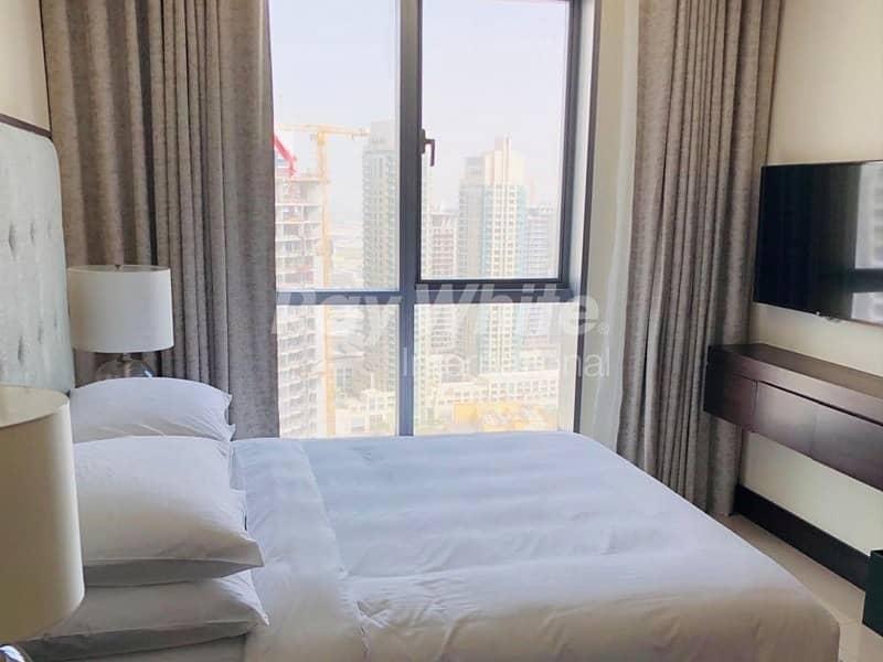 2 Stunning Corner Serviced Apartment w/ Burj & Fountain View