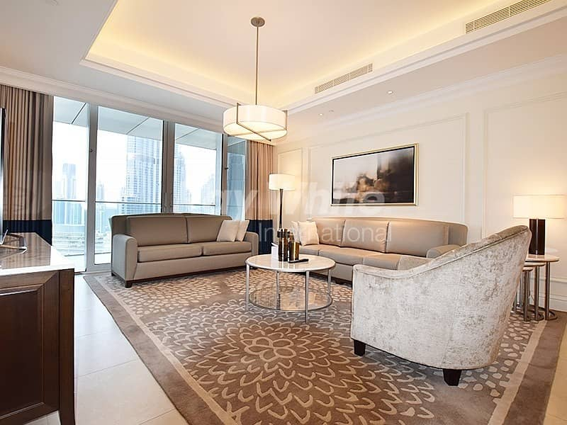 2 Luxury Fully Furnished w/ Burj Khalifa View