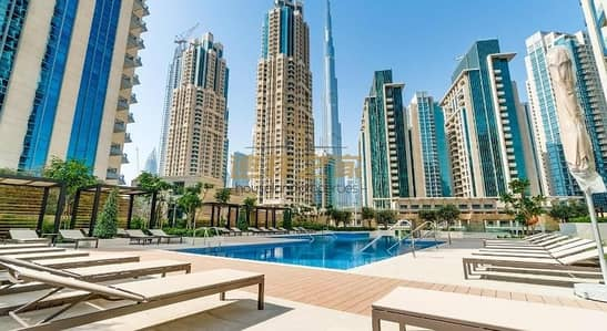 4 Bedroom Apartment for Sale in Downtown Dubai, Dubai - Spacious  4BHK + Maids  With Fountain and Burj Khalifa  View