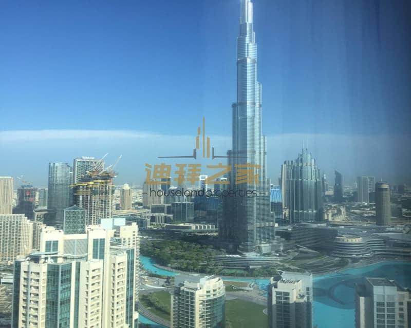 2 Spacious  4BHK + Maids  With Fountain and Burj Khalifa  View