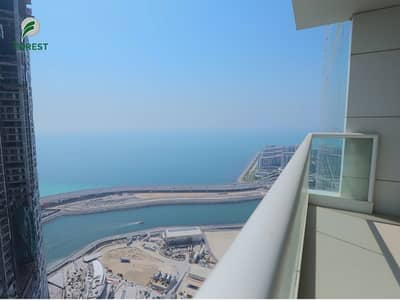 2 Bedroom Apartment for Rent in Jumeirah Beach Residence (JBR), Dubai - Fully Furnished 2 BR plus Maid with Sea View
