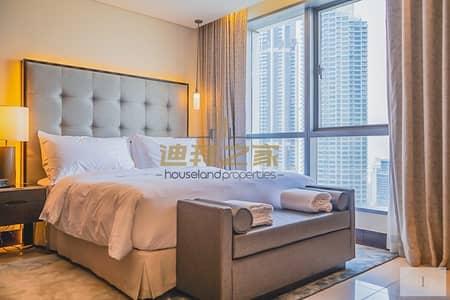 Studio for Sale in Downtown Dubai, Dubai - Modern Living luxury studio high floor must see