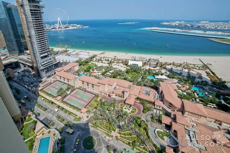 3 Bedroom Penthouse for Sale in Jumeirah Beach Residence (JBR), Dubai - Upgraded Duplex Penthouse | Three Bedrooms