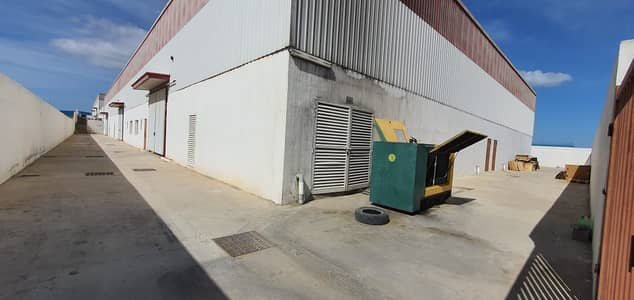 Warehouse for Rent in Emirates Modern Industrial Area, Umm Al Quwain - 85000 SqFt Warehouse with electricity connected tolet in EMIA, Umm Al Quwain