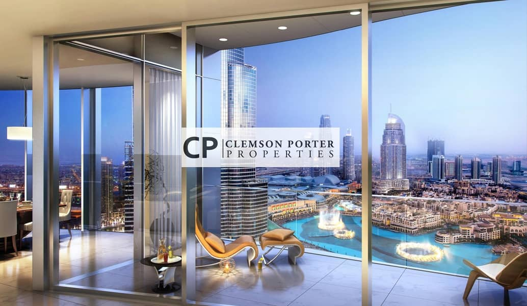 Luxury lifestyle in the heart of Dubai   Half floor apartment with breathtaking views