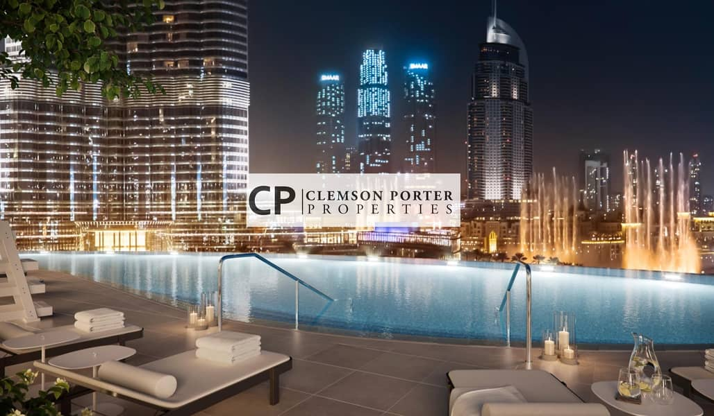 10 Luxury lifestyle in the heart of Dubai   Half floor apartment with breathtaking views