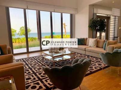 تاون هاوس 4 غرف نوم للبيع في جزيرة بلوواترز، دبي - Luxury townhouse ready to move in exclusive location with 7 years payment plan