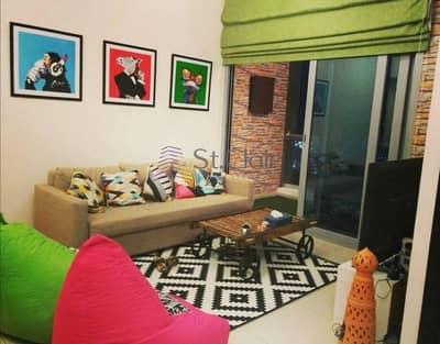 شقة 1 غرفة نوم للايجار في دبي مارينا، دبي - Furnished chiller free 1 bedroom for rent