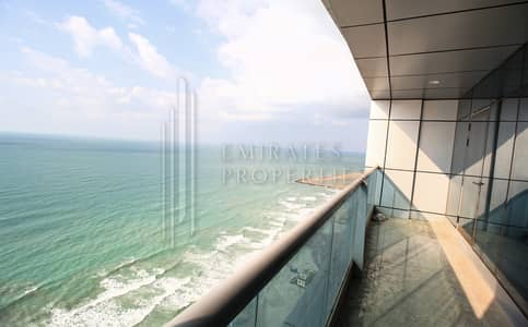 2 Bedroom Apartment for Sale in Corniche Ajman, Ajman - LUXURIOUS 2 BHK | SEA VIEW FOR SALE | FREEHOLD