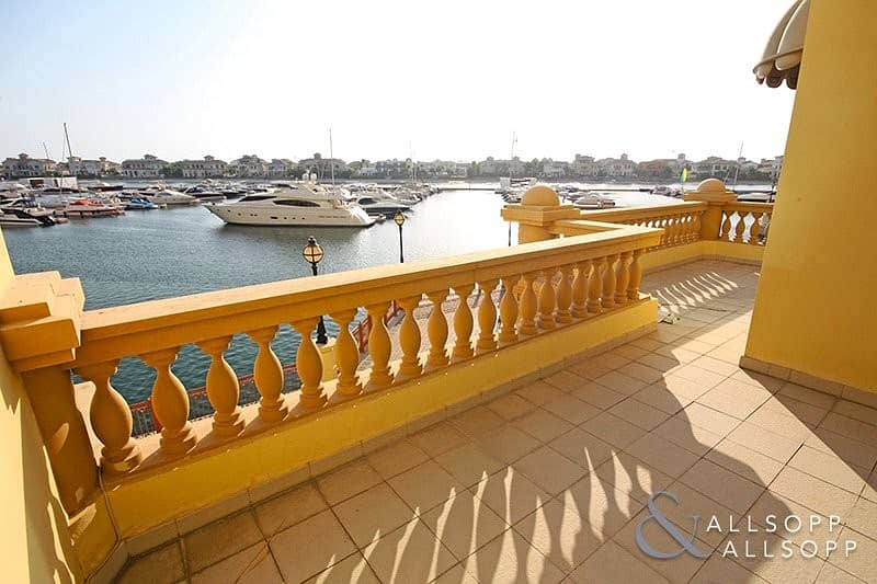 2 Large Terrace | Marina Views | Double Garage