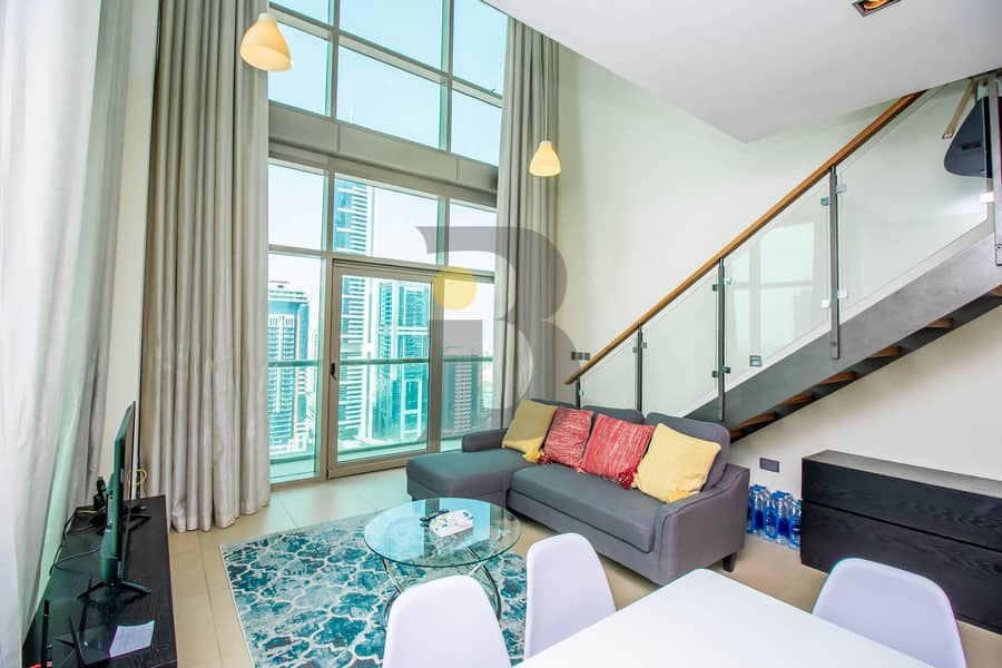 Vacant   Furnished 1 Bedroom Duplex   Sea View