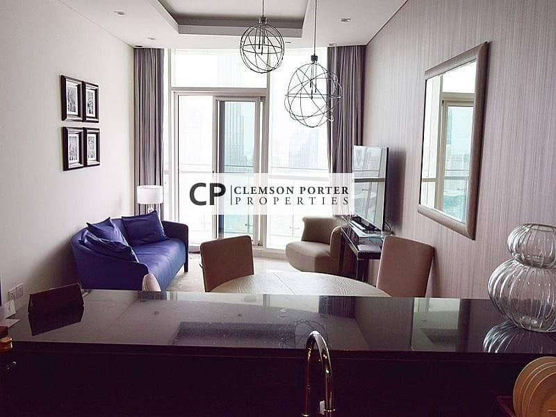 2 Motivated Seller | 2BR Ready to Move In | Full Burj Khalifa View