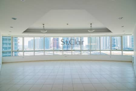 4 Bedroom Apartment for Sale in Dubai Marina, Dubai - Great Deal Rented or Vacant Road View 4BR+M