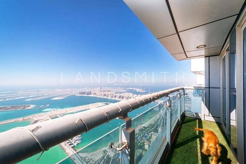 2 Fantastic Views Huge 4BR Penthouse plus Maids room