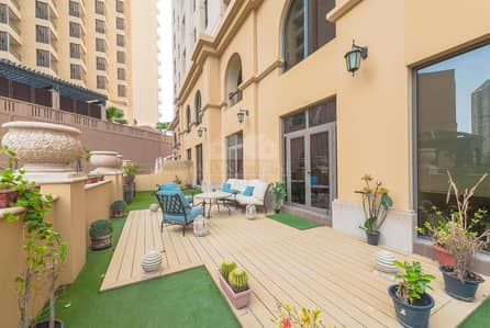 5 Bedroom Apartment for Sale in Jumeirah Beach Residence (JBR), Dubai - Upgraded 5 Bed Duplex with Large Living Room