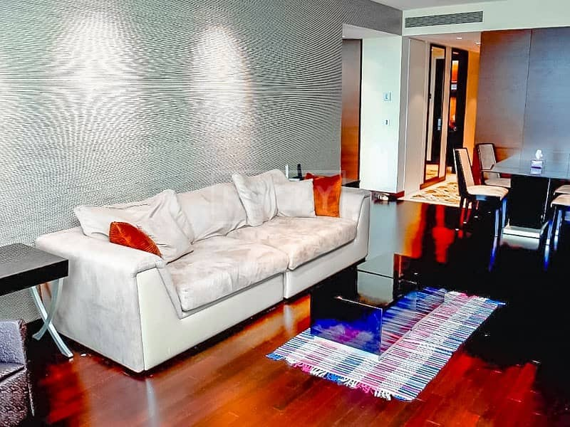 2 Mid Floor | Fully Furnished | 2-Bed | Downtown View