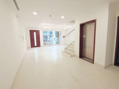 4 Bedroom Townhouse for Sale in Jumeirah Village Circle (JVC), Dubai - Private Elevator 4Bed + Maid TH Near Park JVC