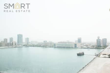 Office for Sale in Dafan Al Nakheel, Ras Al Khaimah - A beautiful Mangrove  Shell &Core office Space located in  high floor in Julphar towers, Ras Al Khaimah