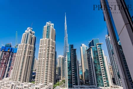 2 Bedroom Flat for Sale in Downtown Dubai, Dubai - Cheapest unit with full Buj Khalifa views brand new