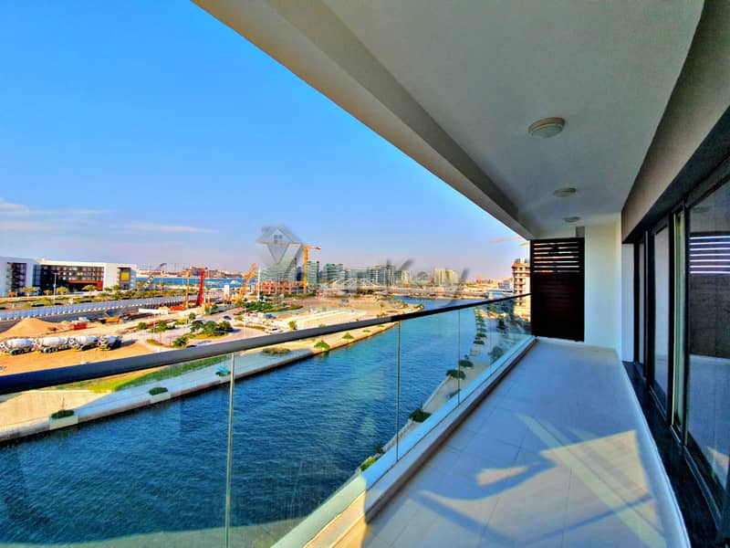Prestigious 2BR +Maids room with Huge Terrace   Canal View
