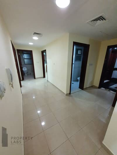 2 Bedroom Flat for Rent in Mussafah, Abu Dhabi - Spacious 2 bedroom and hall with laundry room in Shabiya 9