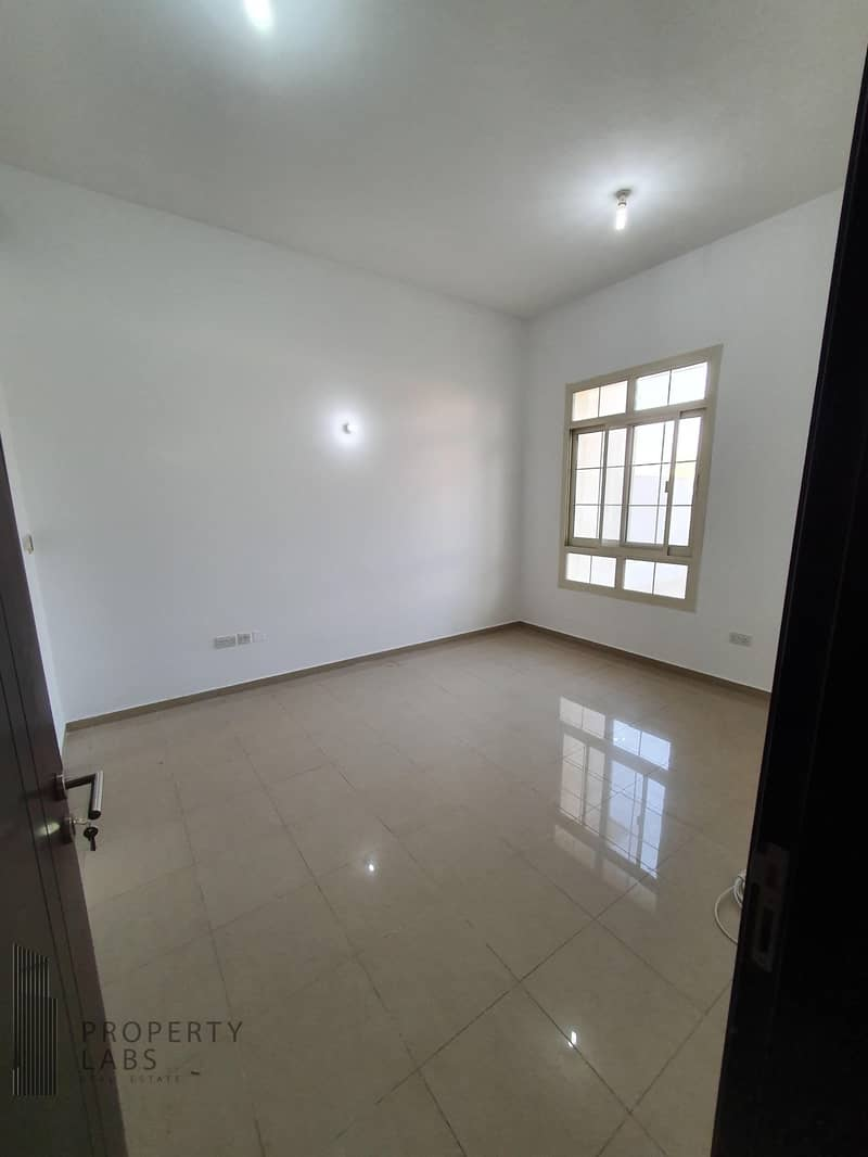 2 Spacious 2 bedroom and hall with laundry room in Shabiya 9