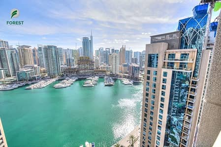 3 Bedroom Flat for Sale in Dubai Marina, Dubai - Vacant | Furnished 3BR with Full Marina View