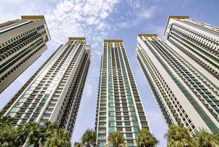 1 Bedroom Apartment for Rent in Al Reem Island, Abu Dhabi - One bedroom apartment in Burooj views