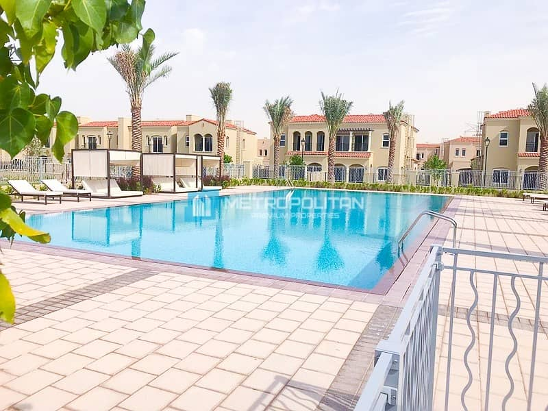 23 Spacious brand New 3 B/R + maids + private garden.