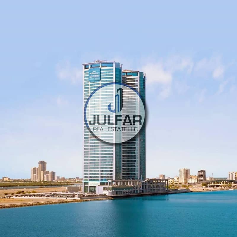 **Beautiful 1-BHK FOR RENT in Julphar Tower R.A.K*