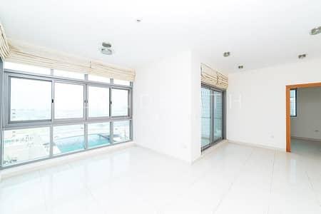 2 Bedroom Flat for Rent in Dubai Marina, Dubai - Panoramic Marina and Sea view 2BR Apt in Iris Blue