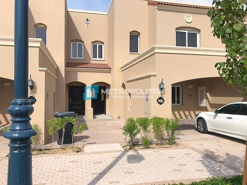 Spacious brand New 3 B/R + maids + private garden.