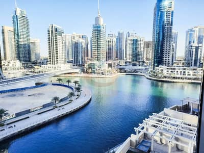 2 Bedroom Flat for Rent in Dubai Marina, Dubai - Full Marina view   Fitted Kitchen appliances   Chiller Free