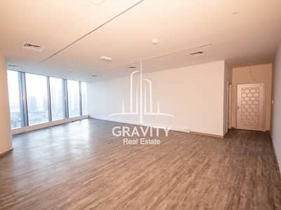 Office for Rent in Al Reem Island, Abu Dhabi - Now Vacant | Fitted Office Space | Middle Floor in Addax Tower
