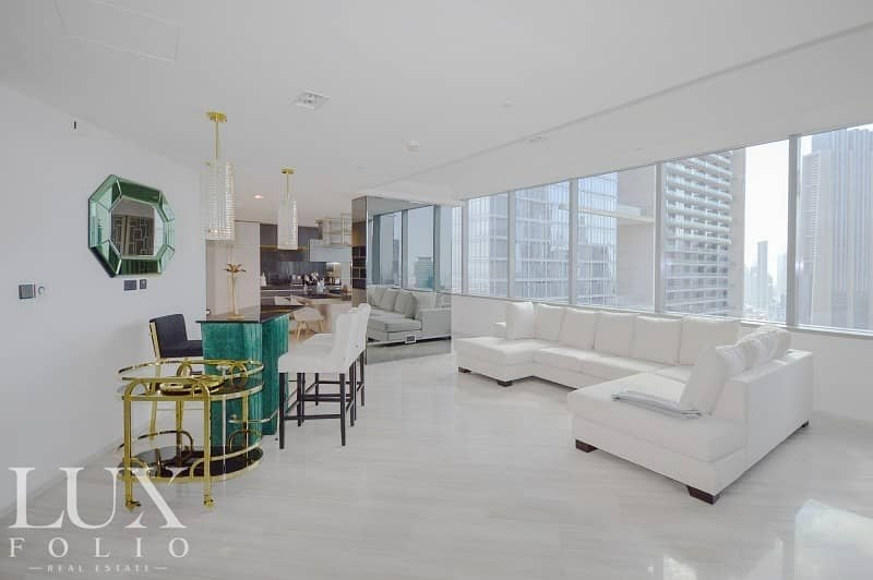 |Rare Fully Upgraded Duplex Penthouse | Exclusive