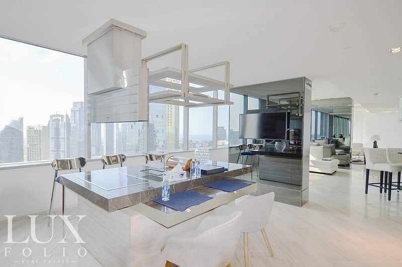 2 |Rare Fully Upgraded Duplex Penthouse | Exclusive