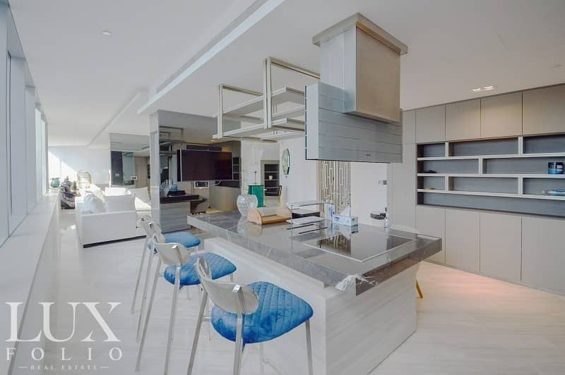19 |Rare Fully Upgraded Duplex Penthouse | Exclusive