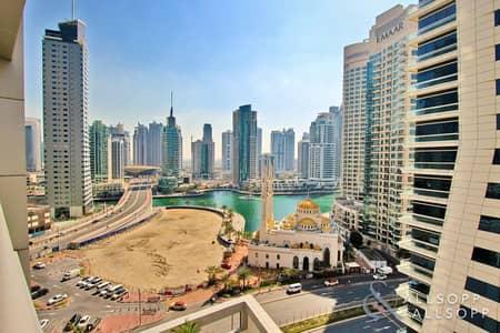 فلیٹ 1 غرفة نوم للايجار في دبي مارينا، دبي - One Bedroom | Furnished | Marina Views