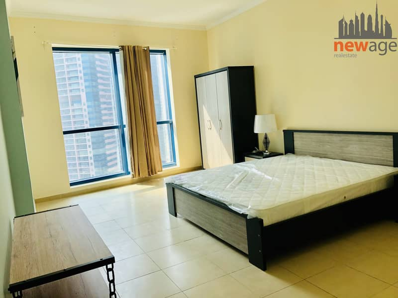 2 Chiller Free Fully Furnished Studio for RENT in Jumeirah Bay X1 JLT