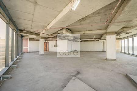 Floor for Rent in Bur Dubai, Dubai - Whole Mezzanine Floor | Shell and Core Office