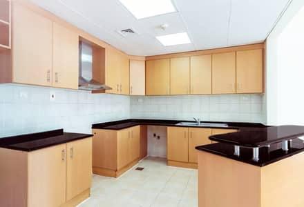 فلیٹ 2 غرفة نوم للايجار في المدينة العالمية، دبي - Open kitchen